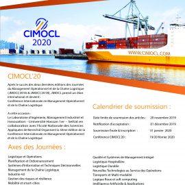 Evénement scientifique CIMOCL'20
