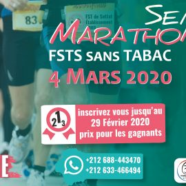 Semi-Marathon FST Settat – Action Etablissement Sans TABAC