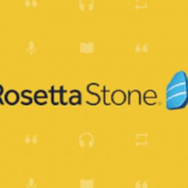 L' accès à la plateforme «ROSETTA STONE»